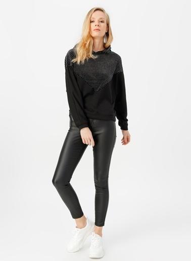 Only Sweatshirt Siyah